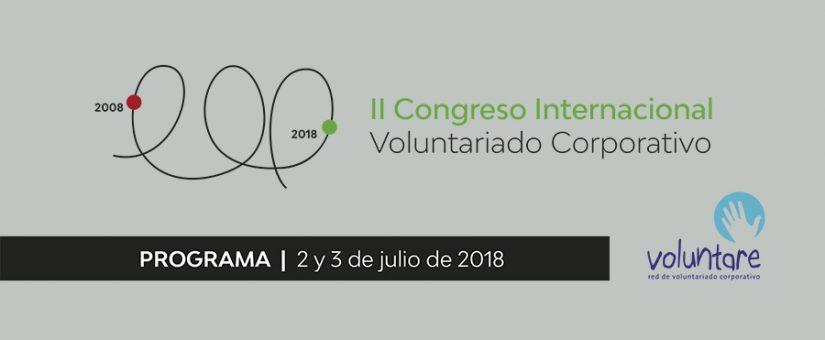 Confirmado el programa del II Congreso Internacional de Voluntariado Corporativo