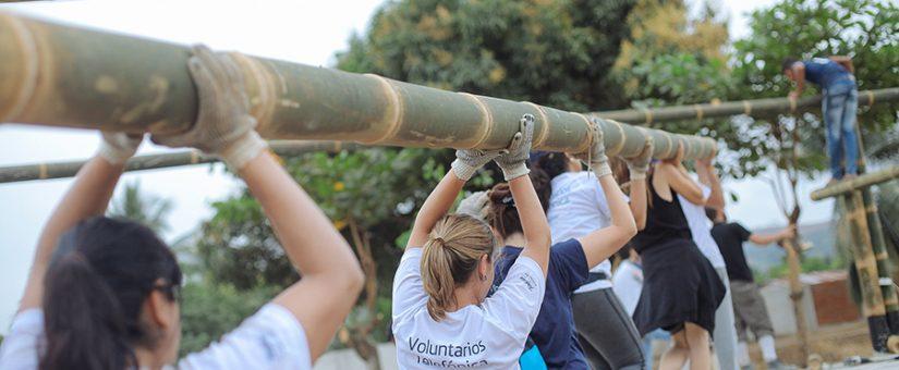 El voluntario, pieza clave en el diseño del programa de voluntariado de Telefónica
