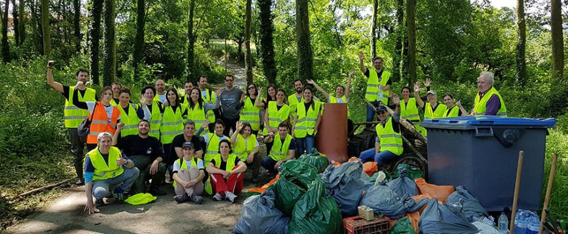 6 toneladas de basura menos y 350 personas concienciadas más en el Responsib'All Day 2018